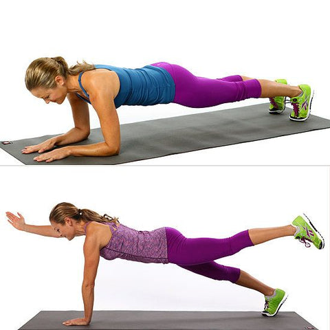 Plank Pushup Reaches - Project Pure Athlete