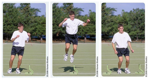 Lateral Barrier Hops - Project Pure Athlete