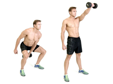 Dumbbell Swing - Project Pure Athlete