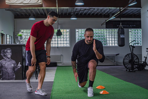 Lunges - Vertical Home Exercises - Project Pure Athlete
