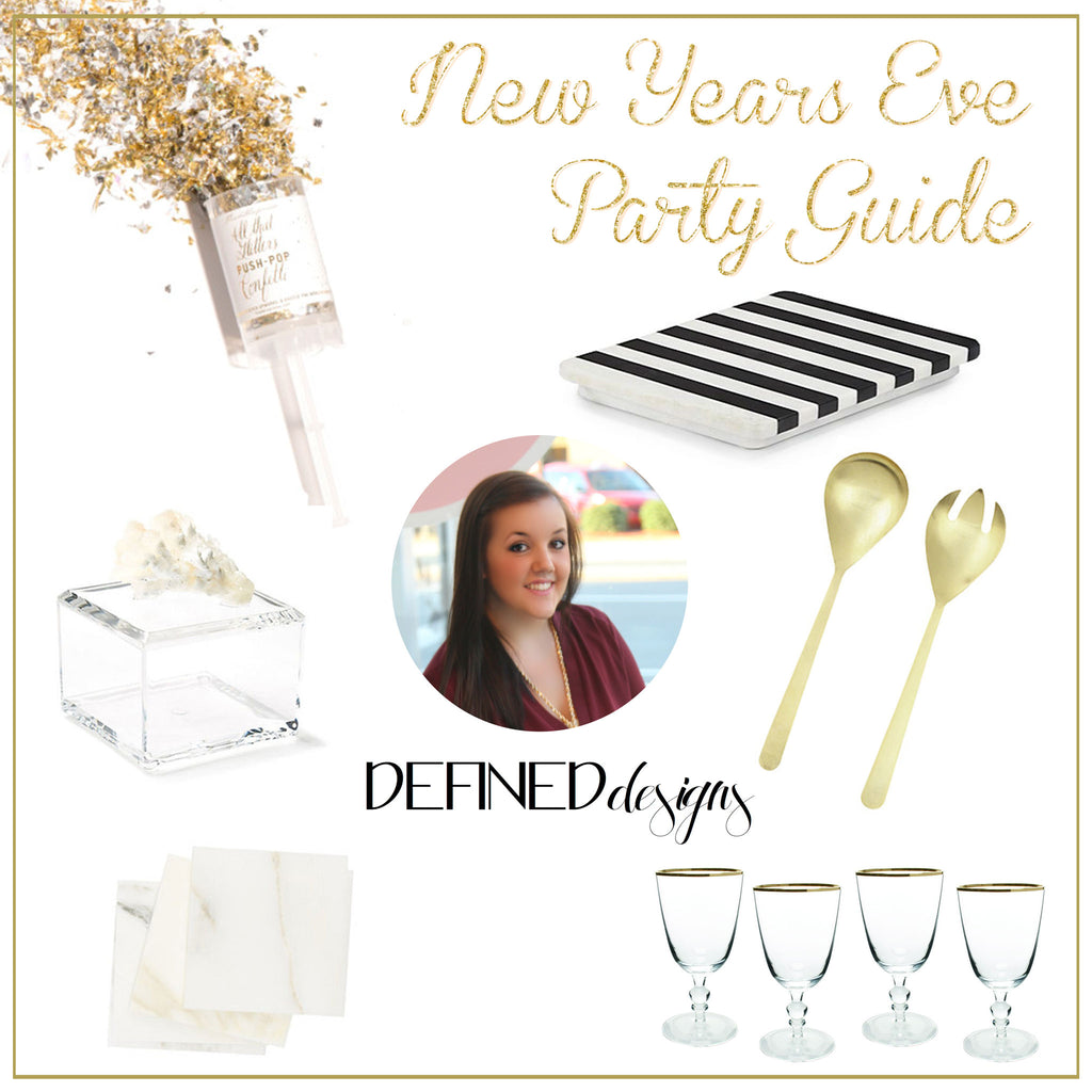New Years Eve Party Guide | Featuring Defined Designs – Mintwood Home