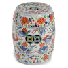Famille Verte Garden Stool with Fish Motif