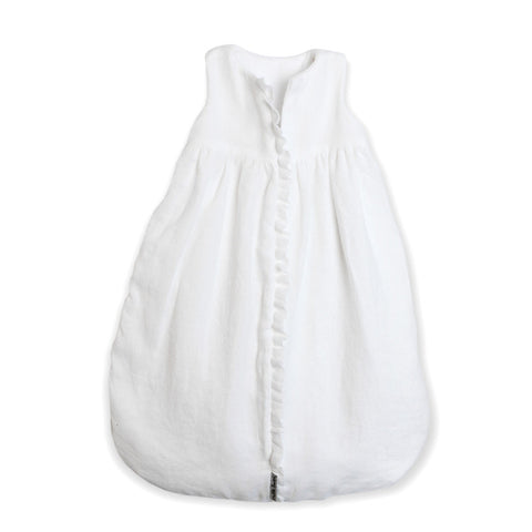 Sleep Sack - White Laundered Linen