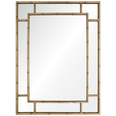 Becca Gold Leaf Iron Mirror