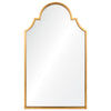 Lincoln Distressed Gold Leaf Mirror