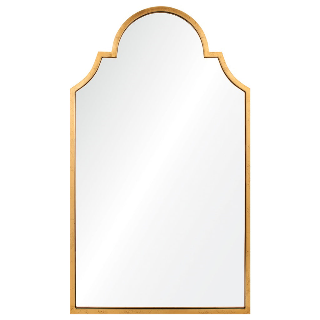 Lincoln Distressed Gold Leaf Mirror Mintwood Home