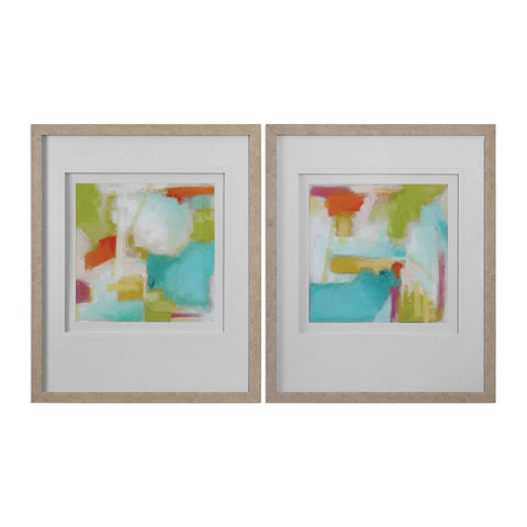 Uttermost Color Space Watercolor Prints