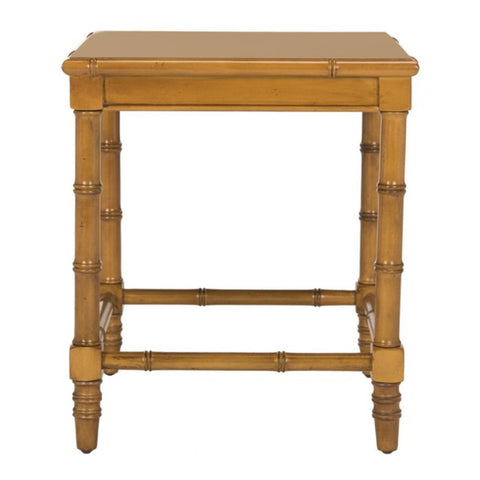 Libby Bamboo Accent Table