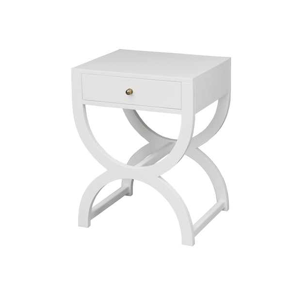Worlds Away Alexis Side Table