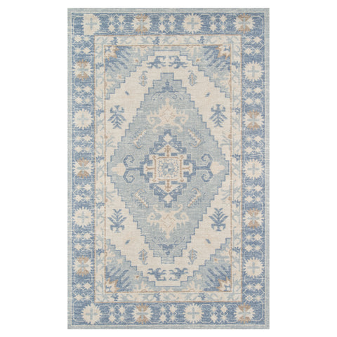 Adaline Diamond Blue Rug