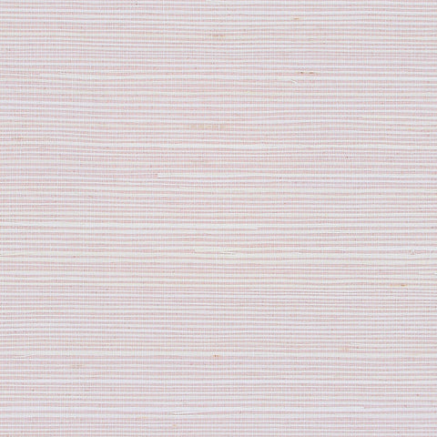 Dusted Pink Grasscloth Wallpaper