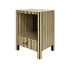 Worlds Away Bronx Side Table