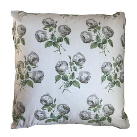Colefax & Fowler Bowood White & Leaf Pillow