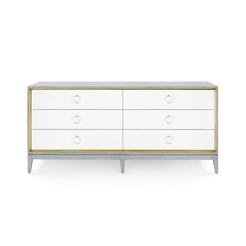 Bungalow 5 Cameron Extra Large 6-Drawer Dresser