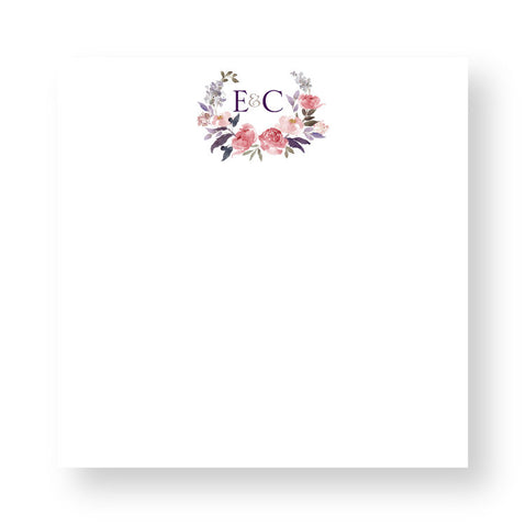 Personalized Couture Crest Notepads