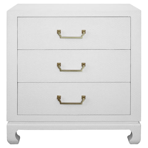 Worlds Away Camille 3 Drawer Chest