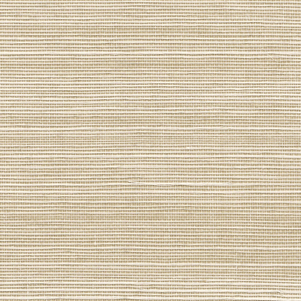 Ecru Grasscloth Wallpaper