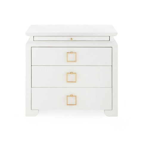Bungalow 5 Elina 3-Drawer Side Table