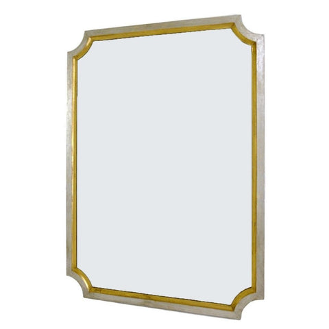Marchmain Silver and Gold Wall Mirror