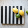 Black and White Marble Cheese Board