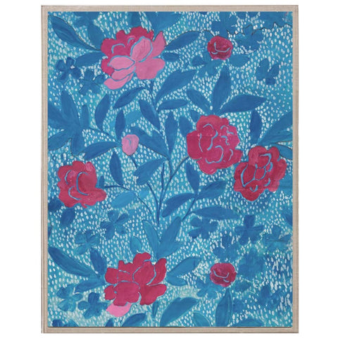 Natural Curiosities Paule Marrot - Floral Blue