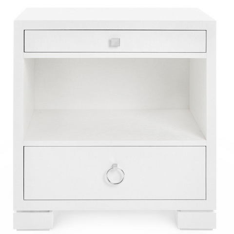 Bungalow 5 Frances 2-Drawer Side Table