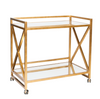 Worlds Away Gerard Bar Cart