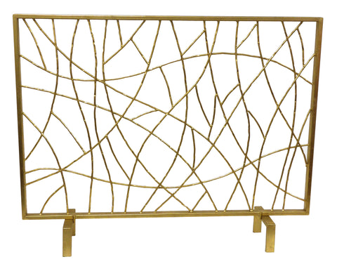 Gold Twig Firescreen