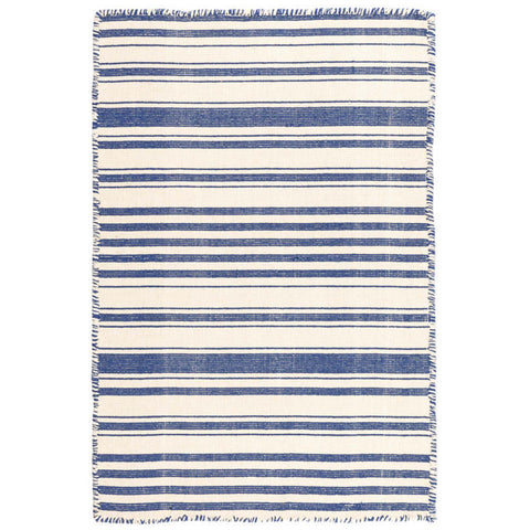 Hampshire Stripe Woven Cotton Rug