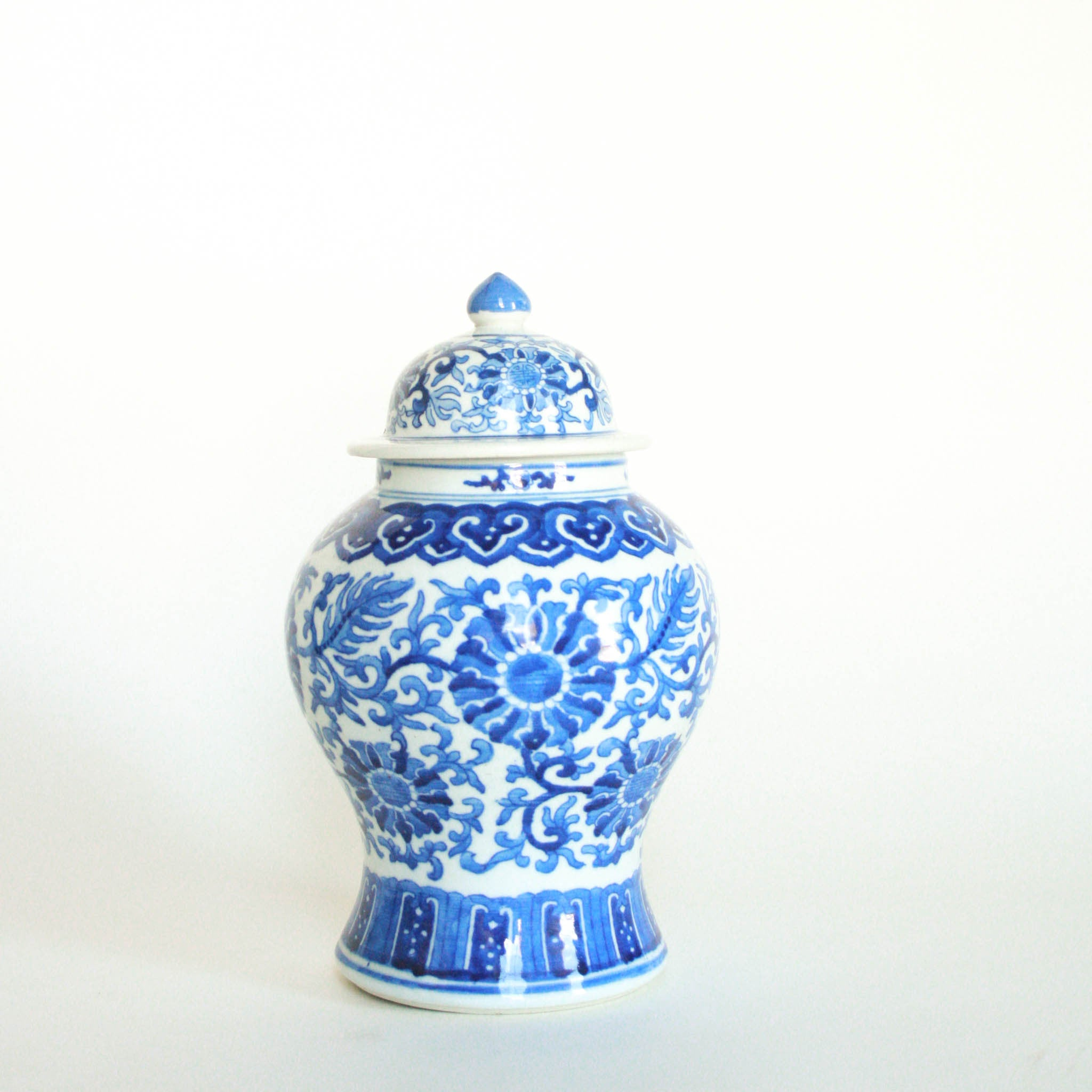 Blue and White Ginger Jar (Ginger Jar)