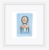 Floral Chair Giclee Print