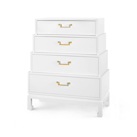 Bungalow 5 Jasmine Tall 4-Drawer Dresser