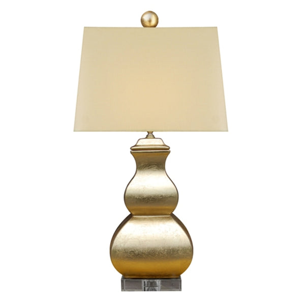 Gold Square Gourd Lamp