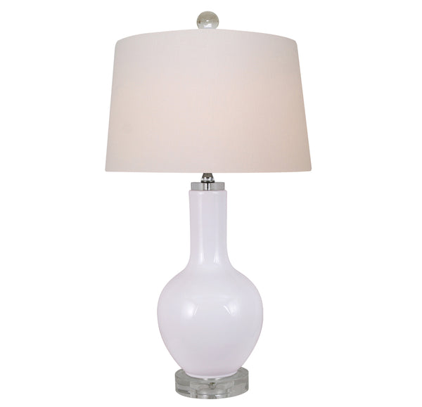 White Porcelain Bulb Lamp