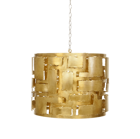 Worlds Away Leo Pendant Chandelier