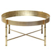 Worlds Away Margaret Round Tray Coffee Table