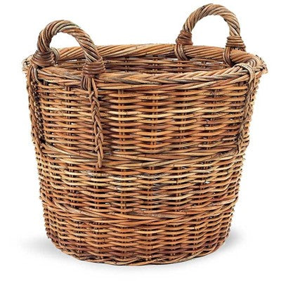 French Country Log Basket