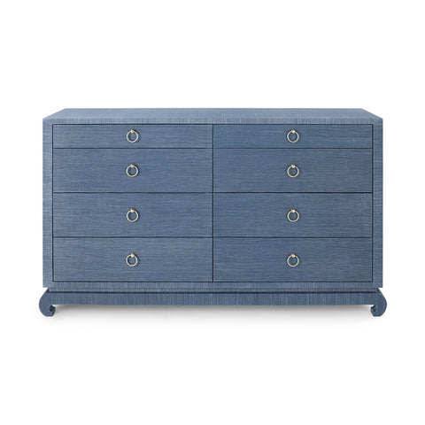 Bungalow 5 Ming Extra Large 8-Drawer Dresser