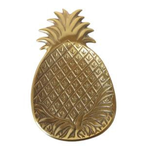 Brass Pineapple Dish