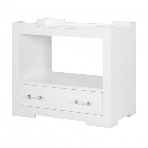 Worlds Away Monica Tray Top Side Table