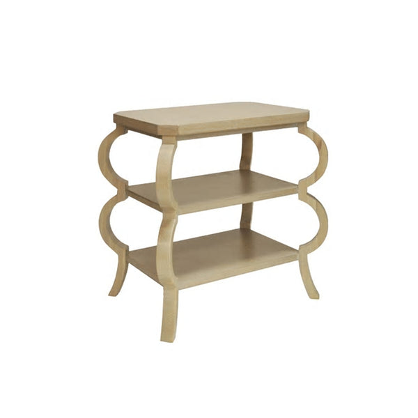 Worlds Away Olive Side Table