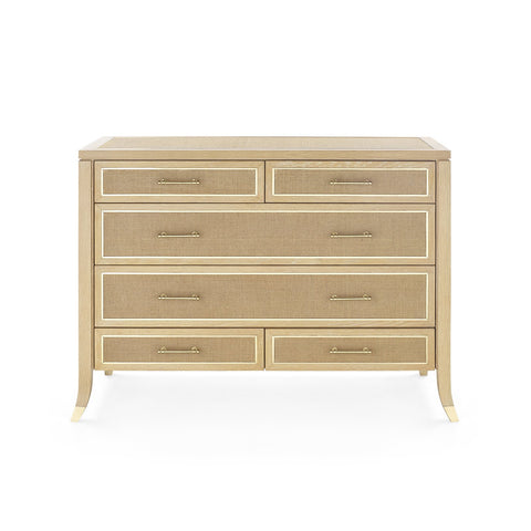 Bungalow 5 Paulina Large 6-Drawer Dresser