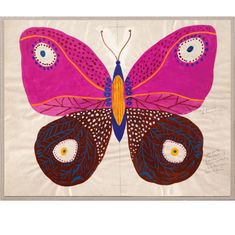 Natural Curiosities Paule Marrot - Butterfly Pink