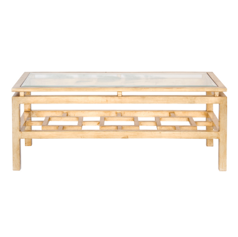Worlds Away Pierre Coffee Table
