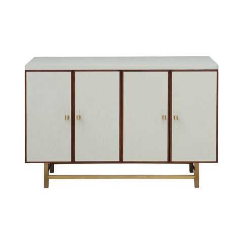 Worlds Away Ramsey 4-Door Cabinet