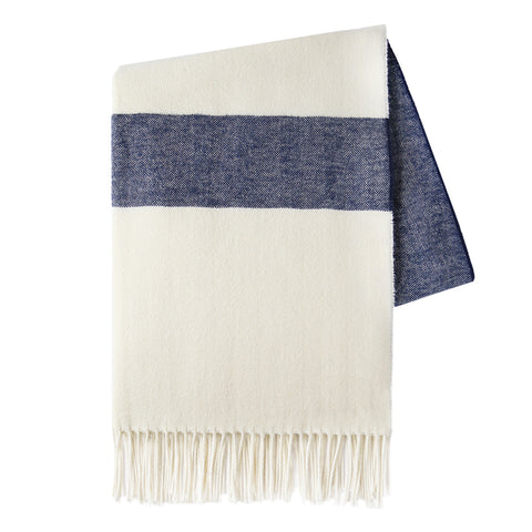 Sydney Herringbone Stripe Throw