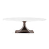 Bungalow 5 Stockholm Small Oval Dining Table Bronze