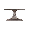 Bungalow 5 Stockholm Oval Dining Table Bronze