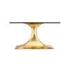 Bungalow 5 Stockholm Oval Dining Table Brass