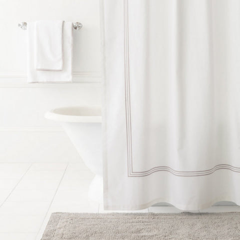 Pearl Grey Shower Curtain